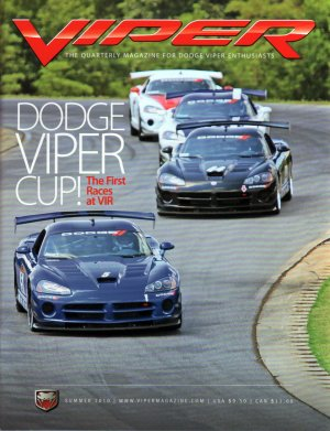 2010 Viper Magazine Vol 16, Issue 3 Summer