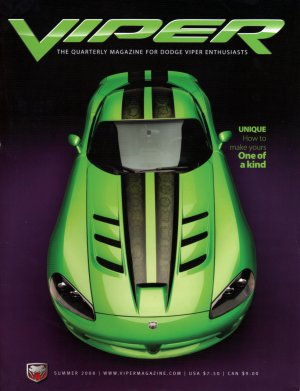 2008 Viper Magazine Vol 14, Issue 3 Summer