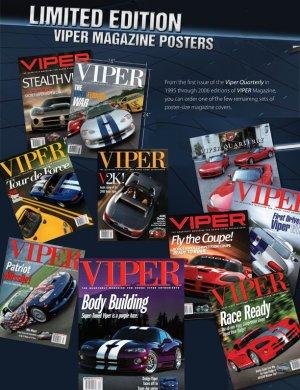 VIPER Magazine Poster Set
