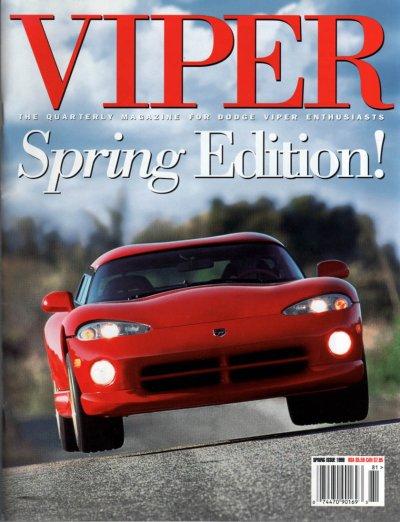 1998 Viper Magazine Vol 4, Issue 2 Spring