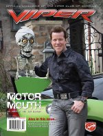 2011 Jan/Feb VIPER Magazine Cover Poster - Jeff Dunham Issue