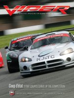 2009 Winter VIPER Magazine Cover Poster - Competition Coupe Racing Issue
