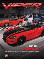 2009 Spring VIPER Magazine Cover Poster - Evolution of an American Icon Issue