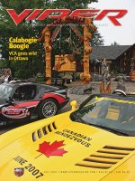 2007 Fall VIPER Magazine Cover Poster - Calabogie Boogie Canada Issue