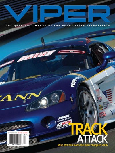 2006 Summer VIPER Magazine Cover Poster - Track Attack Issue