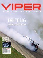2004 Summer VIPER Magazine Cover Poster - Drifting: The Viper Smokes 'Em Issue
