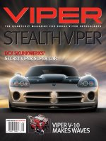 2004 Spring VIPER Magazine Cover Poster - Skunkwerks Secret Stealth Viper Issue