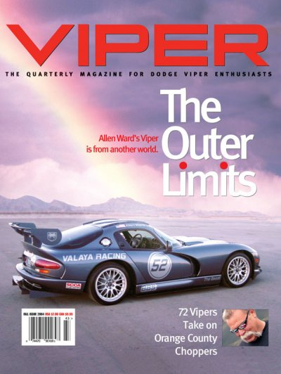 2004 Fall VIPER Magazine Cover Poster - The Outer Limits Issue