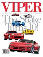 2002 Spring VIPER Magazine Cover Poster - 10th Anniversary Issue
