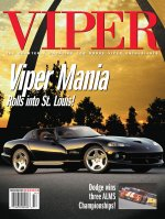 2001 Winter VIPER Magazine Cover Poster - Viper Mania Rolls Into St. Louis for VOI 6