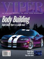 2001 Summer VIPER Magazine Cover Poster - Body Building is a Purple Haze