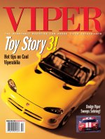 2000 Summer VIPER Magazine Cover Poster - Toy Story 3: Hot Tips on Cool Viperabilia