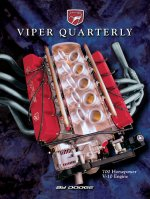 1997 Winter Viper Quarterly Cover Poster - 700 Horsepower V-10 Engine