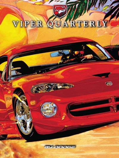 1997 Spring Viper Quarterly Cover Poster