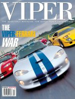 1997 Fall VIPER Quarterly Cover Poster - The Viper Ferrari War