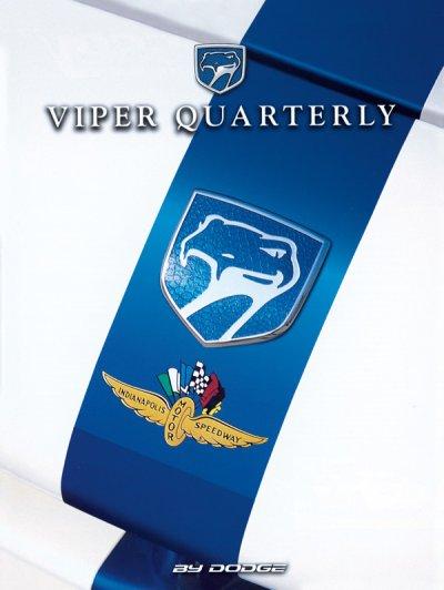 1996 Spring Viper Quarterly Cover Poster