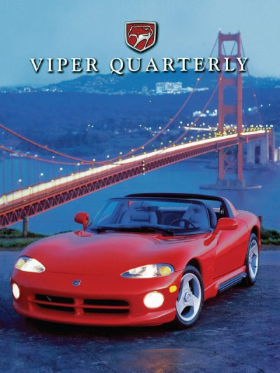 1995 Spring Viper Quarterly Cover Poster