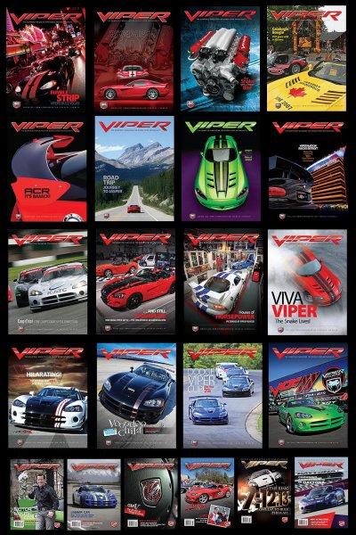 Supplement VIPER Magazine Poster Set: 2007 - 2011