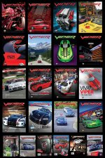 Supplement VIPER Magazine Poster Set: 2007 - 2011