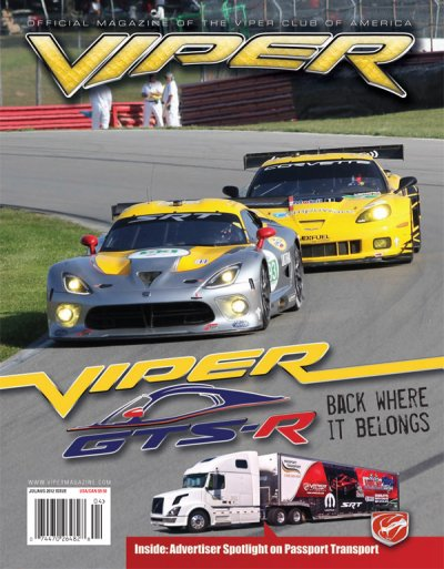 2012 Viper Magazine Vol 18, Issue 4