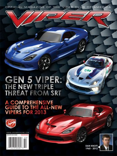 2012 Mar/Apr VIPER Magazine Cover Poster - Gen 5