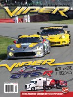 2012 July/Aug VIPER Magazine Cover Poster - ALMS Viper GTS-R