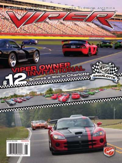 2012 Sep/Oct VIPER Magazine Cover Poster - Viper Owner Invitational