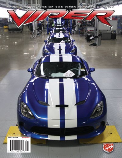 2013 Viper Magazine Volume 19, Issue 1 Jan/Feb