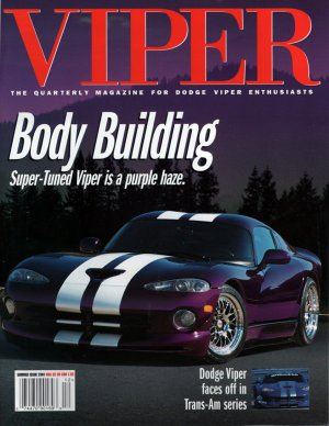 2001 Viper Magazine Vol 7, Issue 3 Summer