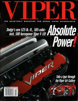 2002 Viper Magazine Vol 8, Issue 4 Fall