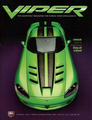 2008 Viper Magazine Vol 14, Issue 3 Summer