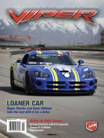 2011 Mar/Apr VIPER Magazine Cover Poster - Penske Wittmer ACR-X Issue