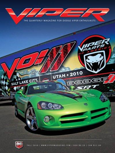 2010 Fall VIPER Magazine Cover Poster - VOI 11