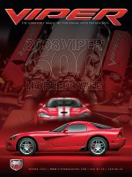 2007 Spring VIPER Magazine Cover Poster - 2008 600 Horsepower Issue