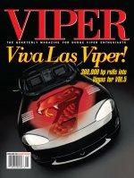 1999 Spring VIPER Magazine Cover Poster - Viva Las Viper: 360,000 Horsepower Rolls into Vegas for VOI 5