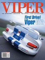 1998 Summer VIPER Magazine Cover Poster - First Drive: Viper GT2