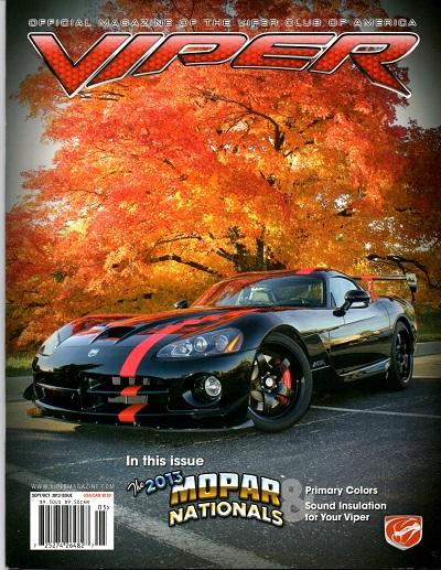 2013 Viper Magazine Vol 19, Issue 5 Sep/Oct